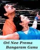 Ori Nee Prema Bangaram Ganu