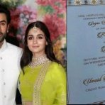 Alia And Ranbir's Fake Wedding Invitation Goes Viral!