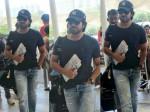 Ram Charan Spotted At Mumbai Airport