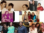Candid Moments Sandalwood Actors With Their Family