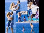 Beyonce Jay Z Pda Italy Vacation Yacht Slam Divorce Rumours