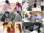Shahrukh Khan Kajol Hrithik Farah Karan On The Sets Of Kabhi Khushi Kabhie Gham