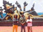 Aranmanai 2 Asia S Largest Goddess Statue Created Might Enter Limca Book Of Records