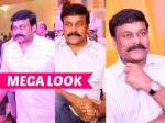 Megastar Chiranjeevi New Look For Kaththi