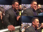 Salman Khan Almost Suffers From A Wardrobe Malfunction At Toifa