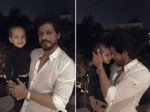 Shahrukh Khan Picture With Yusuf Pathan 2 Year Old Son Ayaan