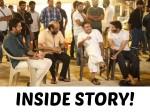 When Pawan Kalyan Met Nithiin And Trivikram In Rattanpur Aaa Sets
