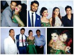 Upen Patel Diandra Others Attend Sambhavna Seth Avinash Reception Pics