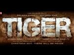 Salman Khan Katrina Kaif Next Film Tiger Zinda Hai First Look Poster