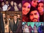 Sania Mirza Sister Sangeet Pics Salman Parineeti Arjun In Attendance