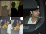Shahrukh Deepika Padukone Ranbir Kapoor Spotted At Karan Johar Bash