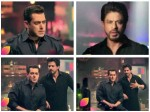 Sultan Salman Khan Meets Raees Shahrukh Khan On Bigg Boss 10 Promo