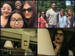 Aishwarya Rai Bachchan Spotted Twinning With Abhishek Bachchan In New York New Pictures