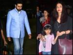 Here Is Why Aishwarya Rai Bachchan Abhishek Bachchan Returned Separately New York Airport Pictures