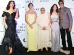Aishwarya Rai Bachchan Navya Naveli Nanda Grab Eyeballs Spotted At Vogue Beauty Awards Pictures