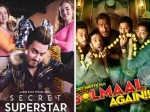 Secret Superstar Golmaal Again Monday Box Office Collection