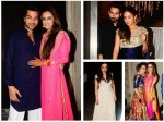 Shahid Kapoor Mira Rajput Sussanne Dia Zayed Others At Smriti Gautam Grand Wedding Reception Pics