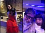 Aaradhya Bachchan Gets Goofy With Amitabh Bachchan Celebrates New Year With Navya Naveli Nanda Pics