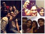 Bigg Boss 11 Hina Gets Pooh Back Parties Bf Rocky Rohan Kanchi Vikas Reunites Priyank Arshi Others