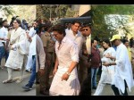 Farewell Sridevi Shahrukh Khan Katrina Kaif Sonam Kapoor And Others Attend The Funeral