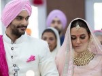 Neha Dhupia Angad Bedi Surprise Wedding Priyank Sharma Ex Gf Divya Bharti Singh Others Wish
