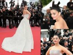 Cannes 2018 Aishwarya Rai Bachchan Takes Away Our Breath In An Ivory Shiny Gown On Day