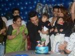 Krushna Abhishek Kashmira Shah Twins Grand Birthday Bash Adaa Khan Karan Mehra Tv Celebs Attend Pics