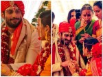 Prateik Babbar Sanya Sagar Wedding Pictures Are Out They Look Heavenly