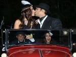 Prateik Babbar Sanya Sagar Host Vintage Themed Wedding Reception Inside Pictures
