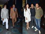 Amitabh Bachchan Dia Mirza Farhan Akhtar Others At Boman Irani Production House Launch
