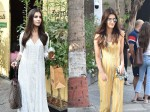 Kriti Sanon Heads Out For Lunch At Popular Club Tara Sutaria Looks Serene In White When Spotted