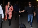 Aishwarya Rai Looks Beautiful As She Returns From Doha Ajay Devgn Spotted At Airport