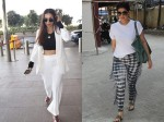 Malaika Arora Looks Classy At Airport Twinkle Khanna Snapped After Work Out Session