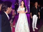 Shah Rukh Khan Arrives Azhar Morani Sangeet Bobby Deol Nora Fatehi Others Attend