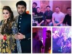 Kapil Sharma Ginni Delhi Reception Daler Mehndi Mika Singh Perform Sohail Yuvraj Attend Inside Pics
