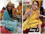 Palak Jain Tapasvi Wedding Palak Dances Her Heart Out Pre Wedding Function Looks Radiant Haldi Event