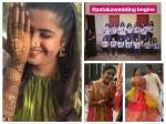 Ek Duje Ke Vaaste Actress Palak Jain Looks Vibrant At Mehendi Sangeet Ceremonies Inside Pics Vids