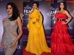 Pictures Janhvi Kapoor Kajol Preity Zinta Turn Up Heat Filmfare Glamour Awards