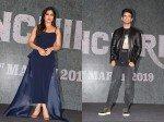 Pictures Bhumi Pednekar Sushant Singh Rajput Trailer Release Sonchiriya