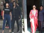 Akshay Kumar Parineeti Chopra Smiles For Cameras At Airport Kiara Advani Looks Radiant When Snapped