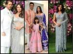Aishwarya Rai Bachchan Shahrukh Khan Priyanka Chopra Spotted At Akash Ambani Wedding See Pictures