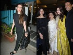 Madhuri Dixit Looks Gorgeous As She Poses With Asha Bhosle Karishma Kapoor After Salon Session