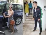 Malaika Arora Dressed For Summer In Pretty Maxi Dress Varun Dhawan Strikes Pose For Cameras