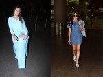 Sara Ali Khan Looks Lovely In Blue At Airport Shruti Hassan Opts For Denim For Airport Look