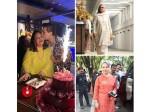 Karan Johar Mom Hiroo Johar Bday Bash Jaya Bachchan Sharmila Tagore Others Attend