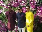 Ranbir Kapoor Ayan Mukerji Karan Johar Share Frame At Akash Ambani Shloka Mehta Wedding