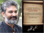 Rrr Follow The Footsteps These Movies Ss Rajamouli Find The Interesting Connection