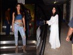 Janhvi Kapoor Looks Ethereal In All White Ensemble Rhea Chakraborty Snapped In Glittery Avatar