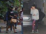Pictures Arjun Kapoor Snapped At Malaika Arora House Jkareena Kapoor Khan Hits The Gym