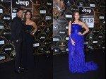 Ht Most Stylish Awards Shah Rukh Khan Gauri Khan Twin In Black Sonakshi Sinha Electrifies In Blue